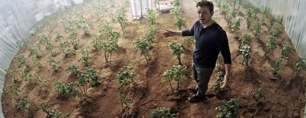 proyecto para vivir en Marte the martian