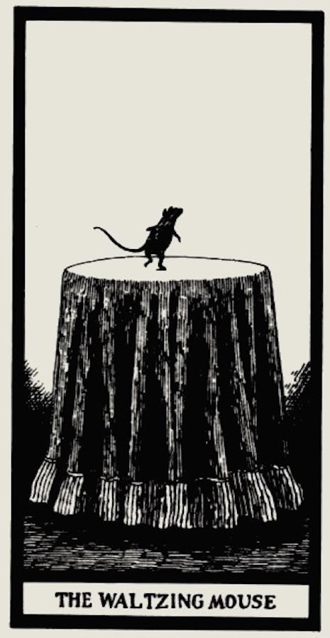 raton edward gorey tarot