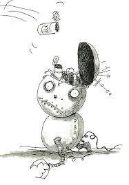 robot Edward Gorey