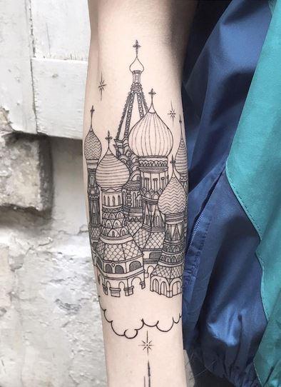 rusia tatuajes originales