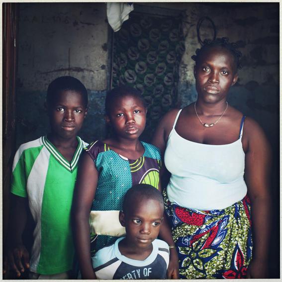 sobrevivientes al ebola en africa ninos