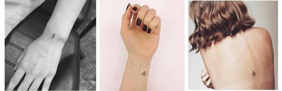 pequeños tatuajes para mujeres