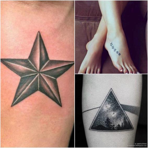 tatuajes de estrellas varias