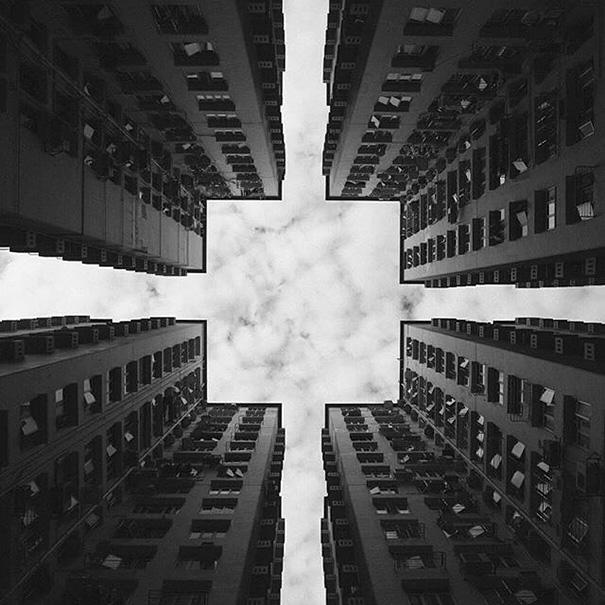 fotografía de arquitectura cuadro