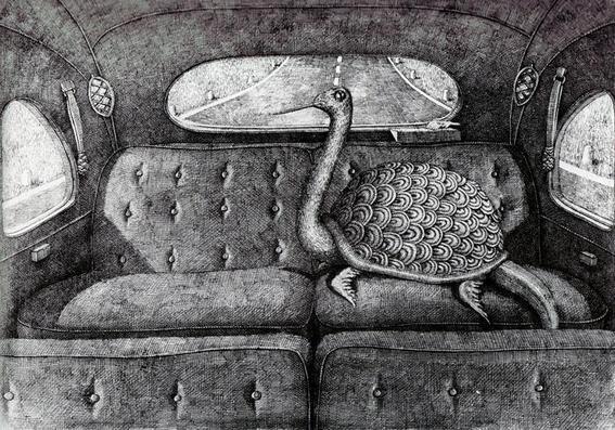 tortuga Edward Gorey