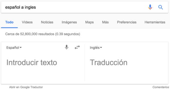 traductor trucos de google