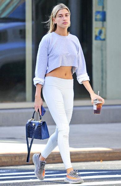 usar correctamente leggings blancos
