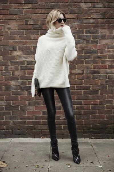usar correctamente leggings sueter