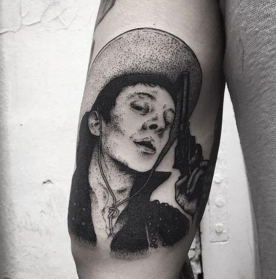 vaquero tatuajes originales