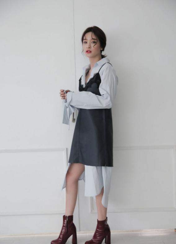 vestido estilo coreano