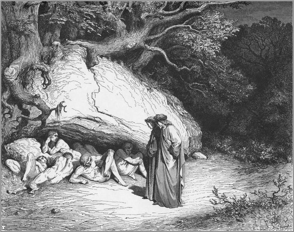 violencia Dante Alighieri