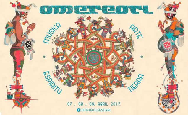 2017 ometeotl festival poster