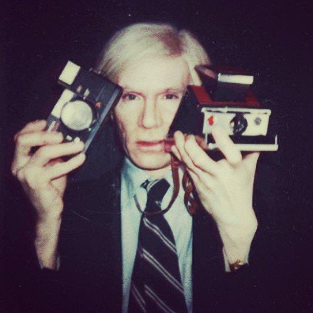 Warhol drag portraits camera
