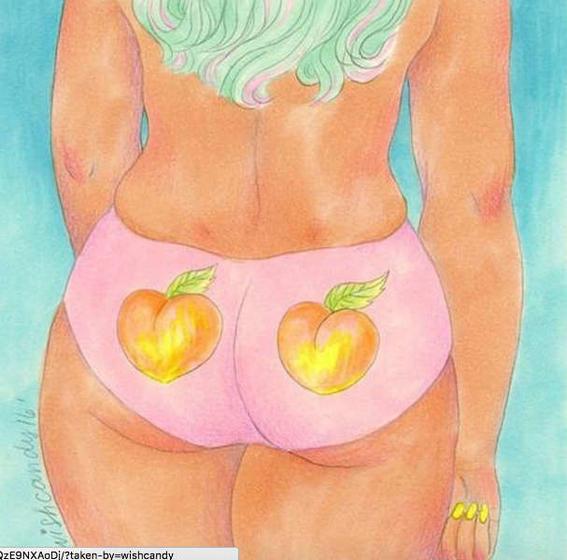 ilustraciones de debilidades humanas peach