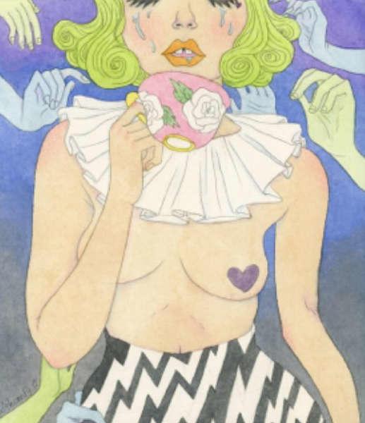 ilustraciones de debilidades humanas tea
