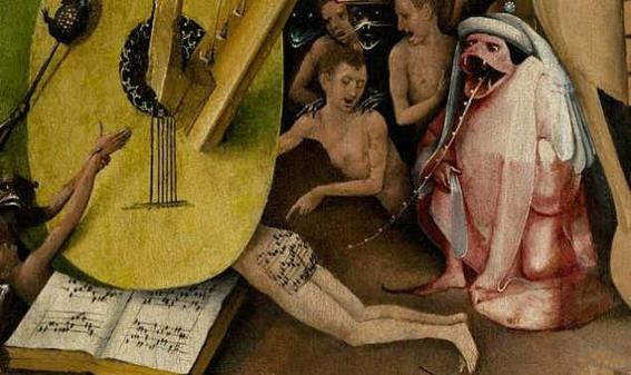 Dark and perverse fetish in art guitar-w636-h600