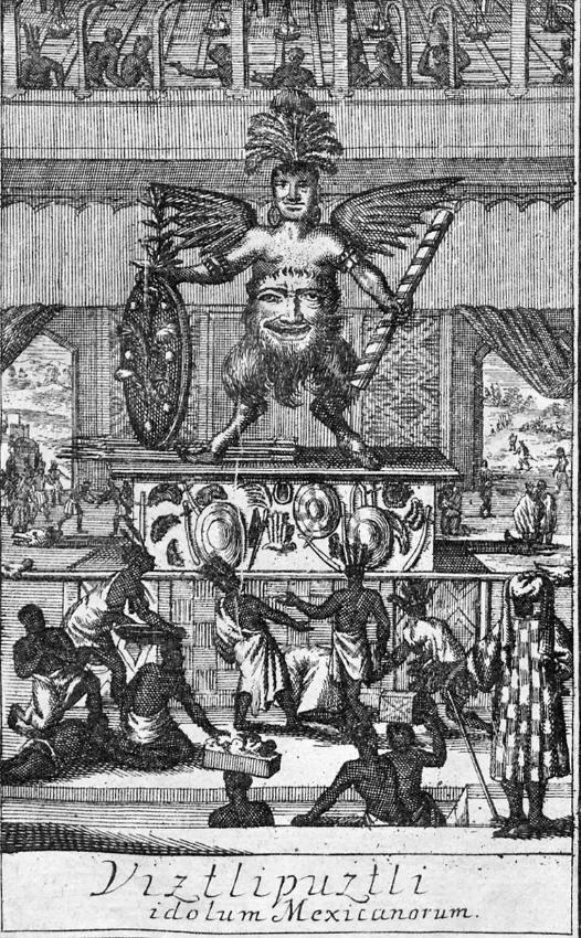 Huitzilipochtli representacion