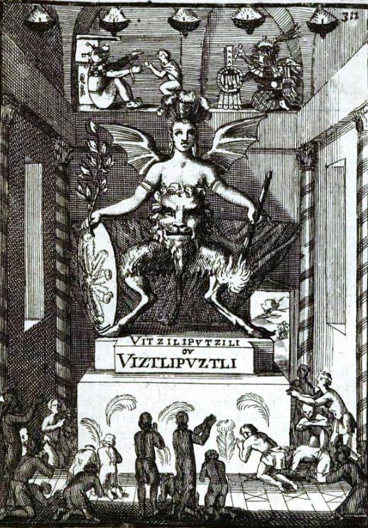 Huitzilipochtli reprsentaciones