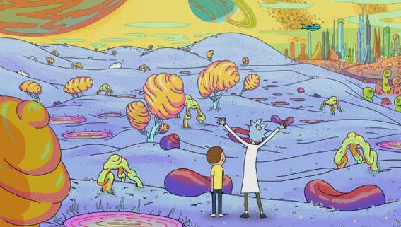 Rick Morty Nihilism planet