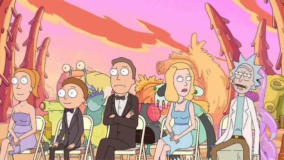 Rick Morty Nihilism wedding