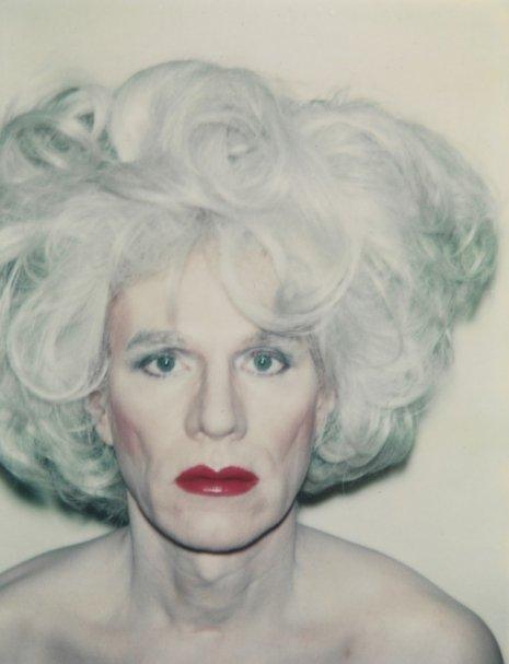 Warhol drag portraits marilyn