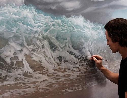 como pinta un artista