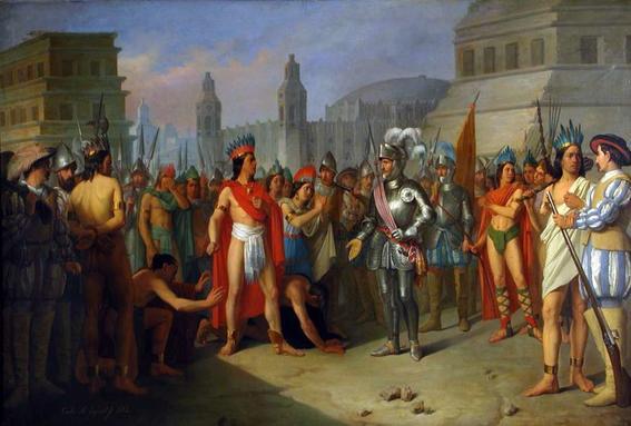 descendientes de moctezuma y cortes