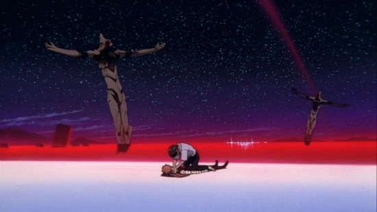 final de evangelion pelicula serie