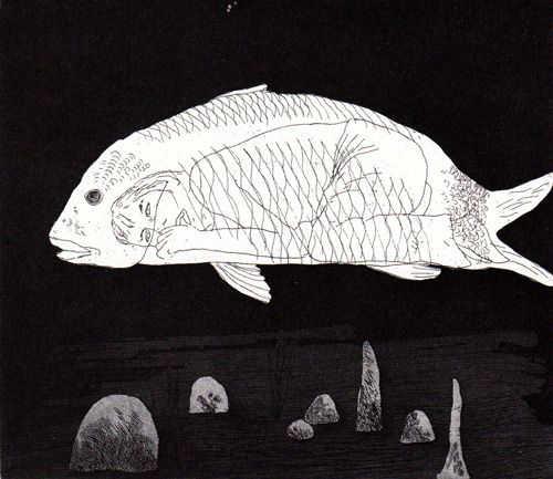 great artists' illustration of books hockney