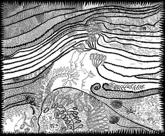 great artists' illustration of books kusama