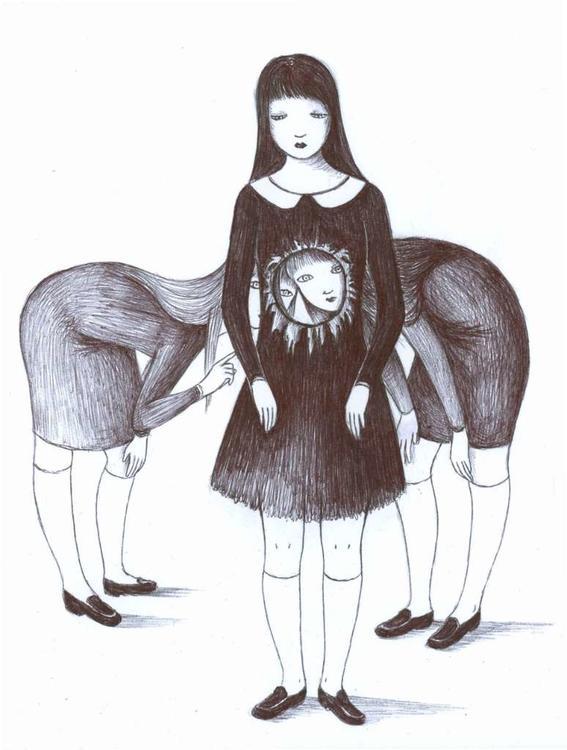hueco soledad y tristeza de una chica comun
