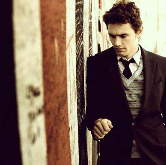 james franco style fashion vest tie