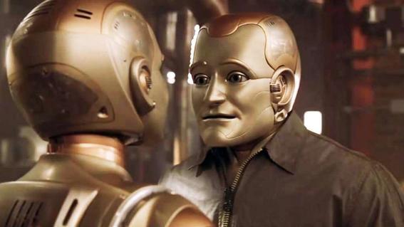 leyes de la robotica hombre