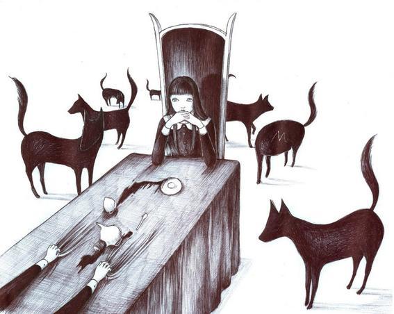 lobos soledad y tristeza de una chica comun