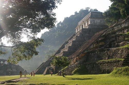 lugares turisticos sureste de mexico palenque