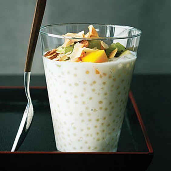 mango recetas de tapioca