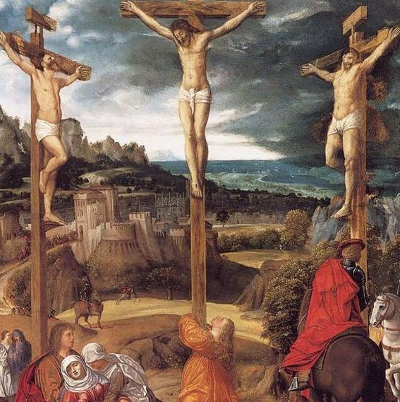 obras de arte que representan la crucifixion giovanni
