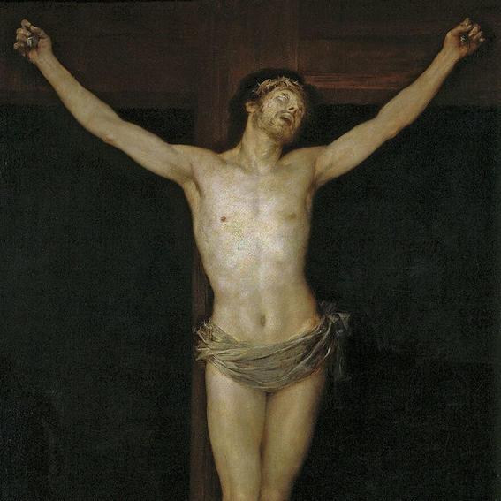 obras de arte que representan la crucifixion goya