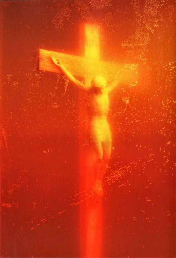obras de arte que representan la crucifixion piss