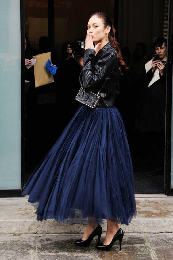 outfits con faldas leather -w800