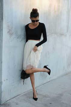 outfits con faldas midi -w800