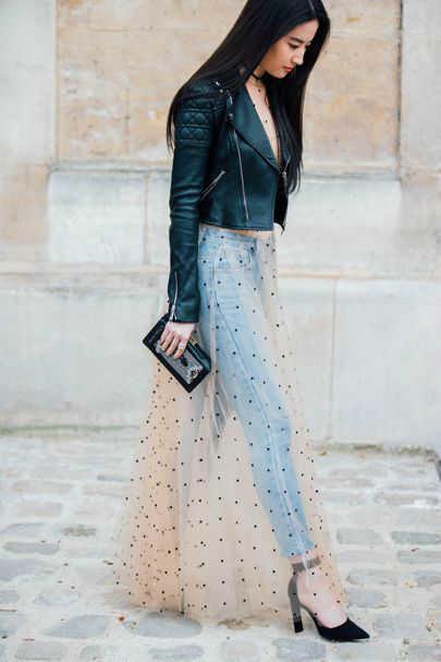outfits con faldas transparente-w800