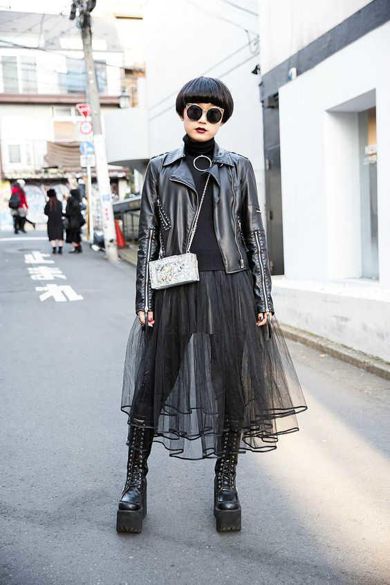 outfits con faldas transparentes-w800