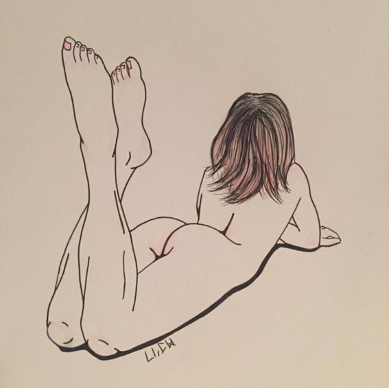 pechotierra sensualidad de una mujer segura