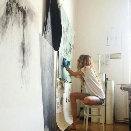 pintar artista