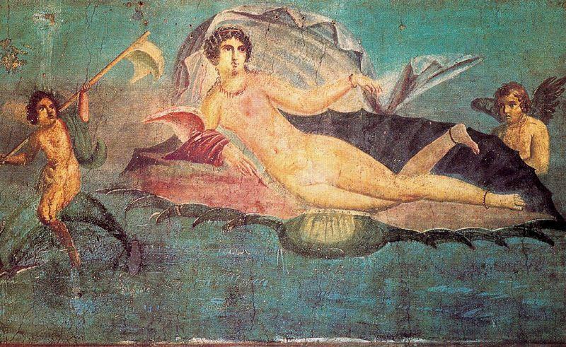 pompeya tecnicas de muralismo