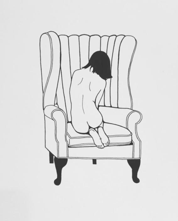 pose sensualidad de una mujer segura
