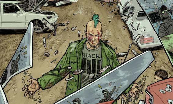 punk Image comics