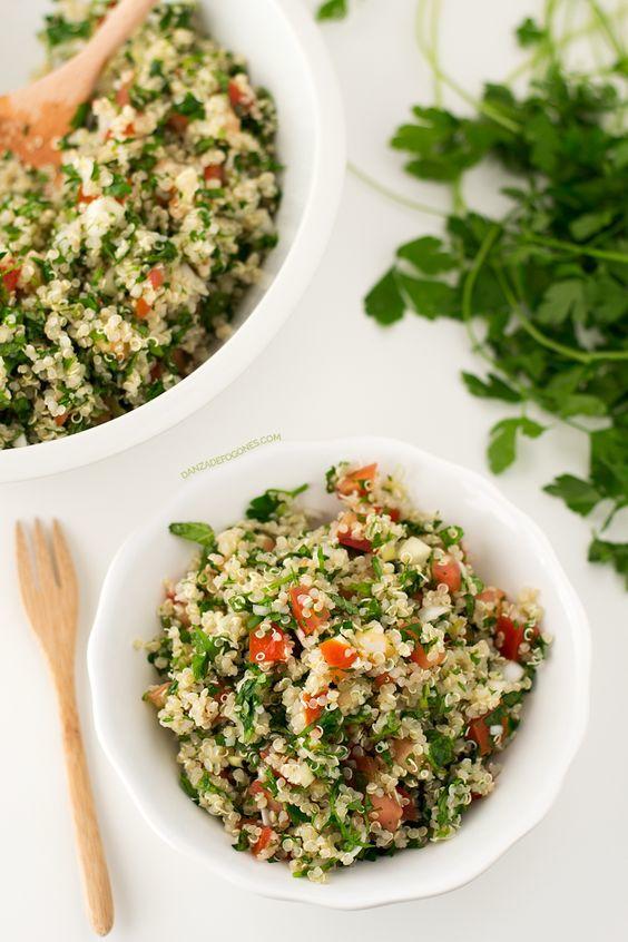 quinoa tabule Comida libanesa