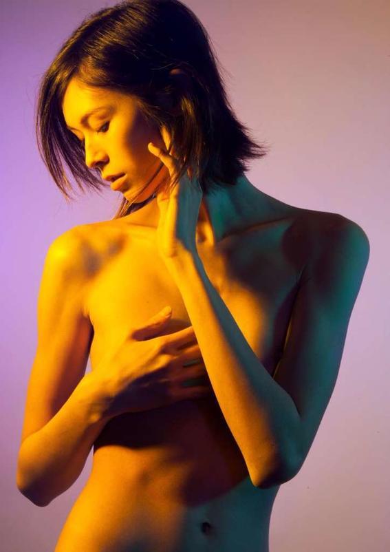 rosa Maggie West desnudos neon